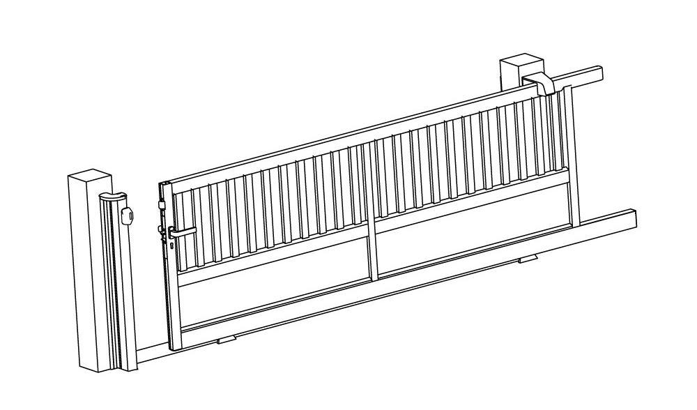 portail alu sur mesure horizal 50 ann es d expertise et d. Black Bedroom Furniture Sets. Home Design Ideas