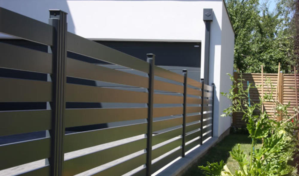 Cloture Alu Sur Mesure Cloture Aluminium Moderne