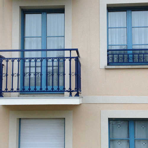 garde-corps traditionnel balcon